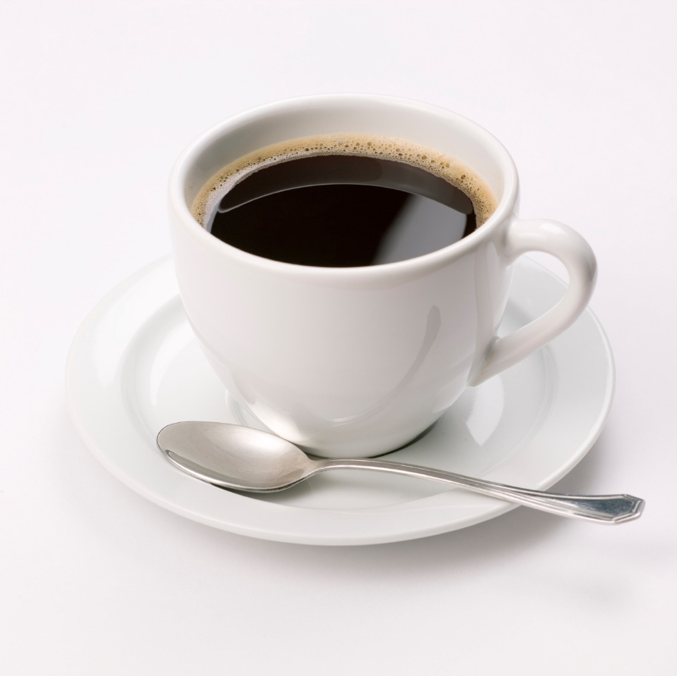 drink black coffee to save calories