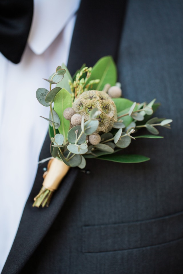 diy greenery boutonniere from md u0026 39 s florist