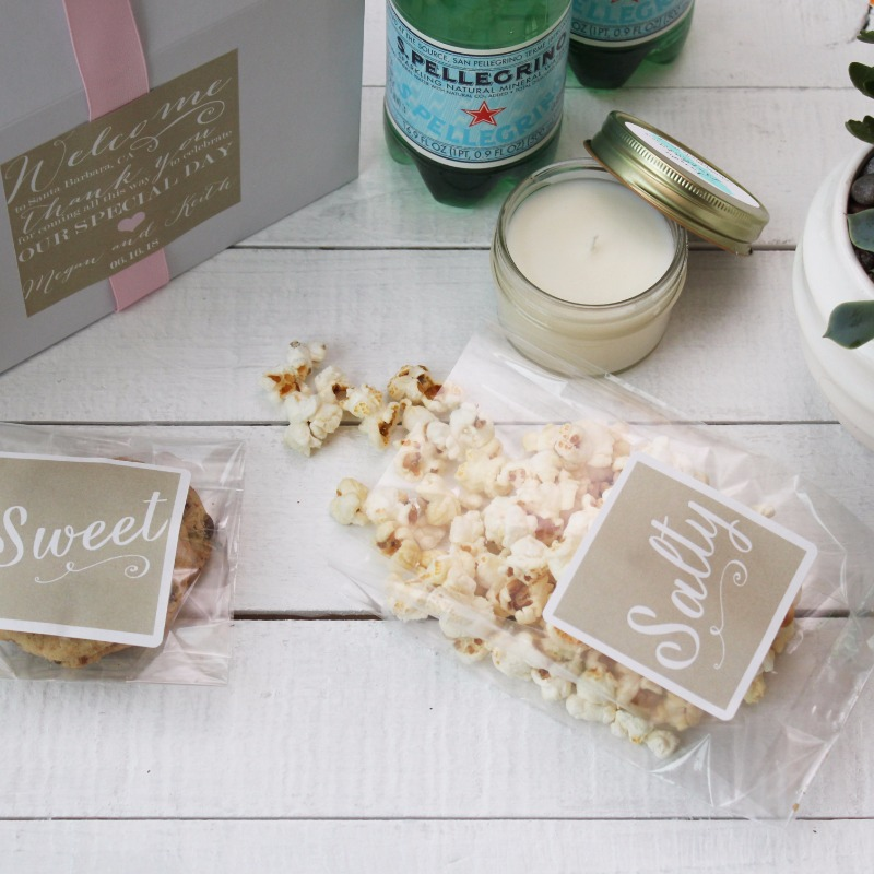 Such a sweet way to welcome your guests!