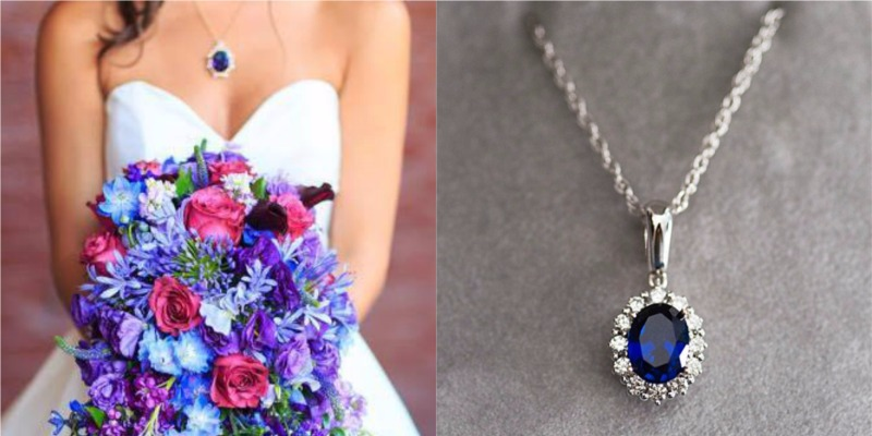 How one bride's unattainable dream necklace became a gorgeous custom necklace for her wedding day!