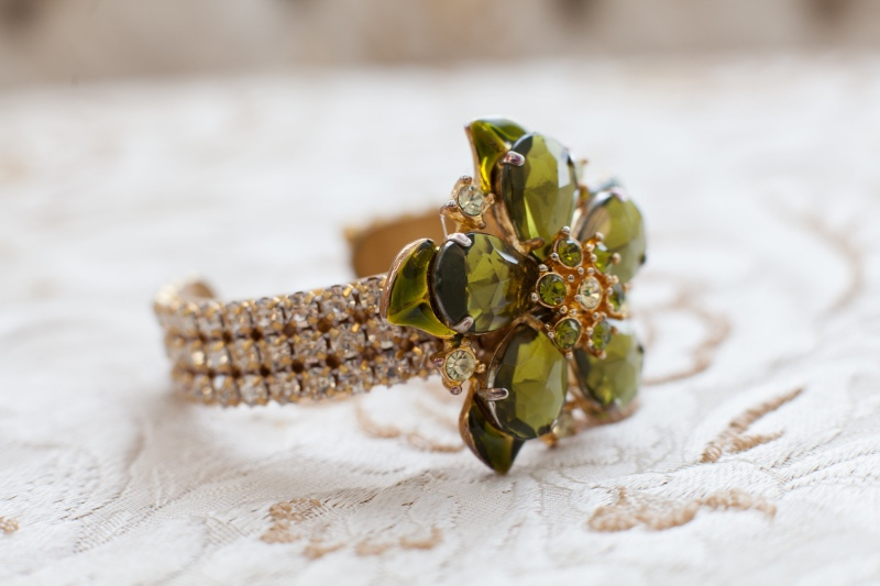 Give your bridesmaid's a gift with lots of color and sparkle.