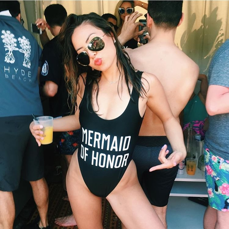 Mermaid of Honor suit from Private Party