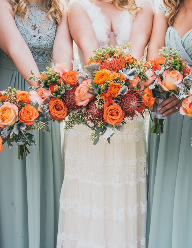 wedding bouquet from Alpha Floral