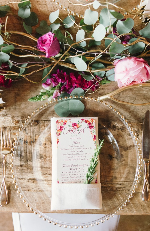 rustic chic table decor ideas