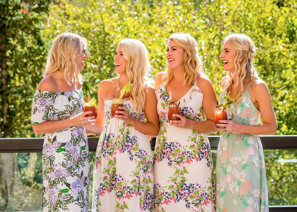 Spring bridal brunch dresses from Plum Pretty Sugar