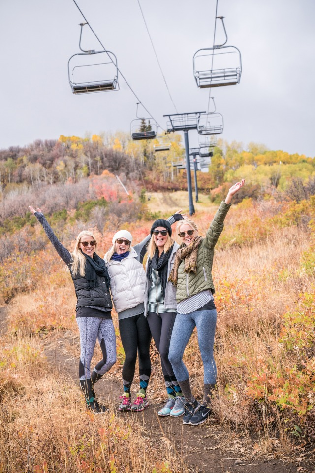 Take a hike with your bridesmaids