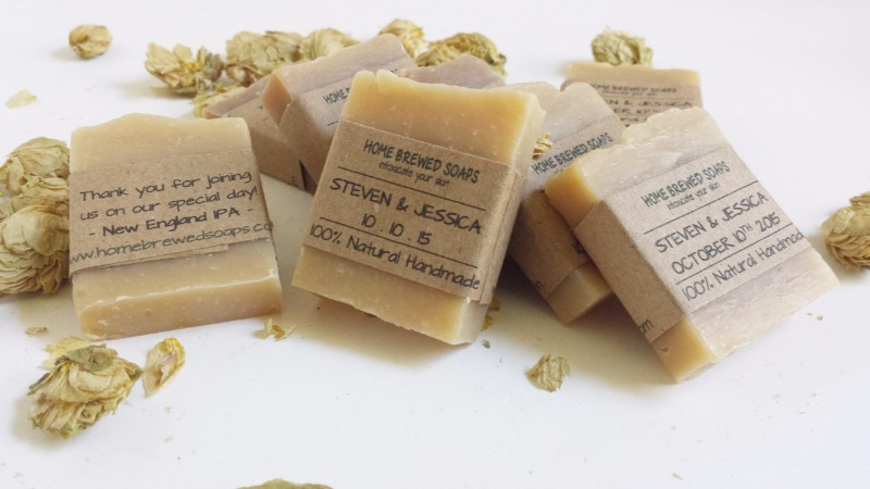 Our handmade beer soap wedding favors are the perfect way to thank your guests and make them feel appreciated. Our wedding favor soaps