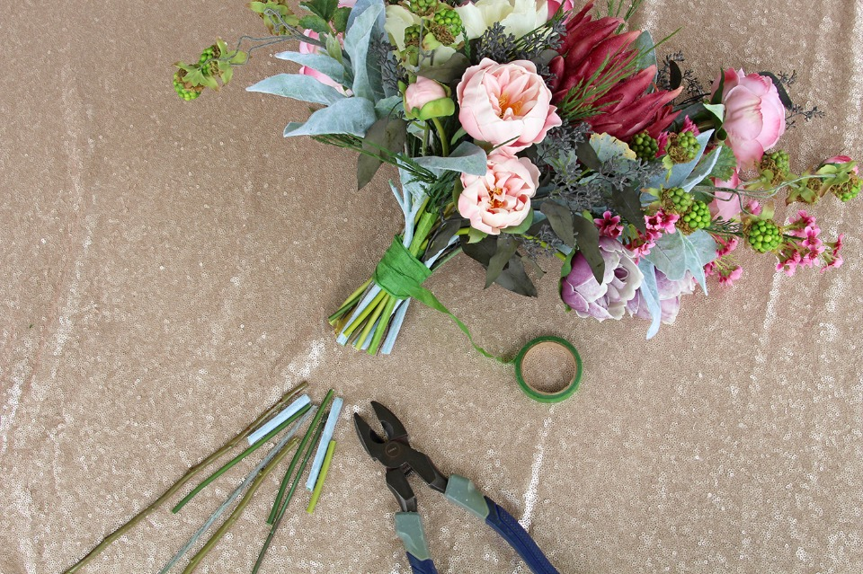DIY bouquet recipe
