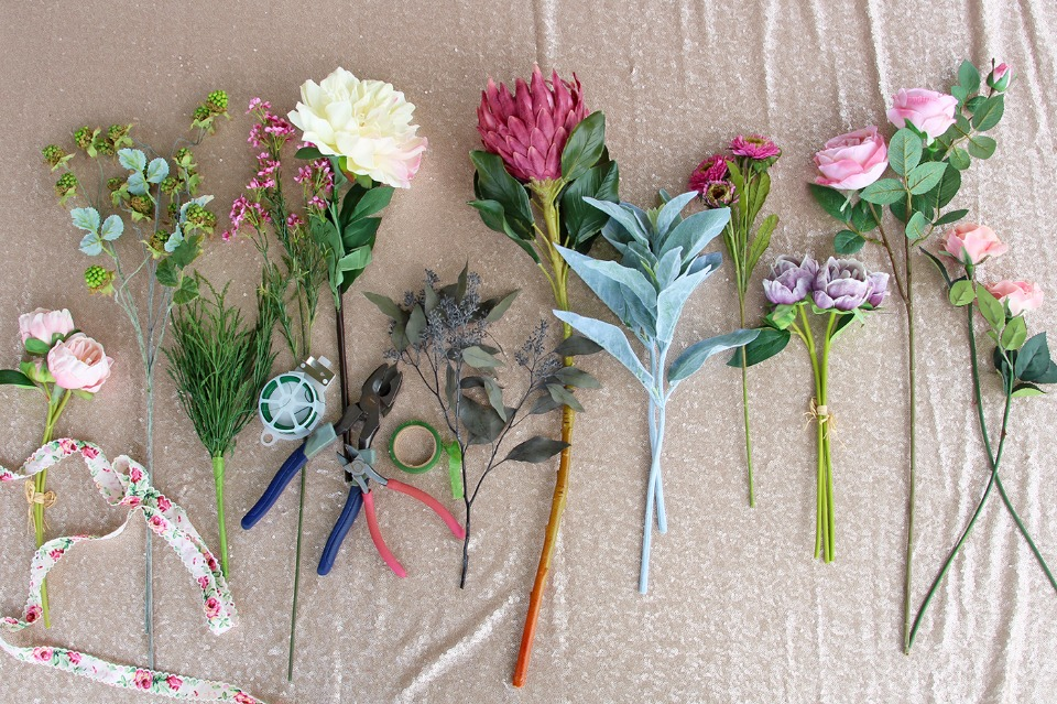 Create your own keepsake bouquet