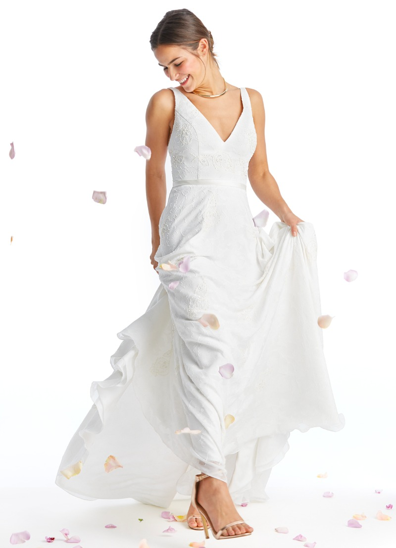 Dance the night away in our Noel bridal gown!