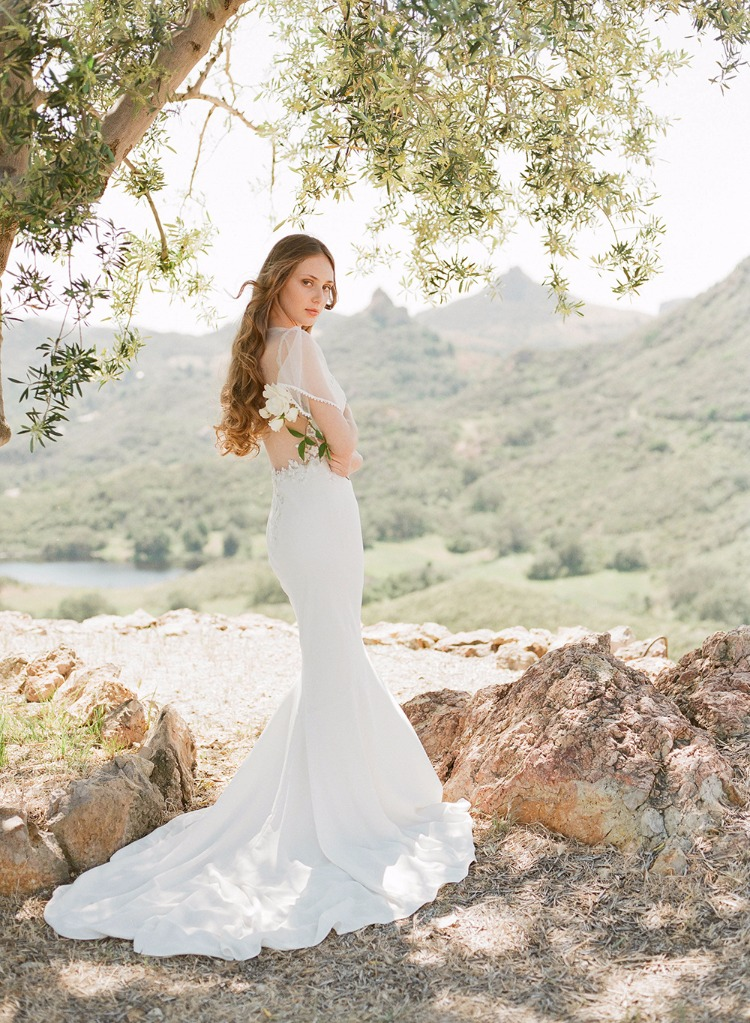 10 Wedding Dresses For A Winery Wedding From Claire Pettibone