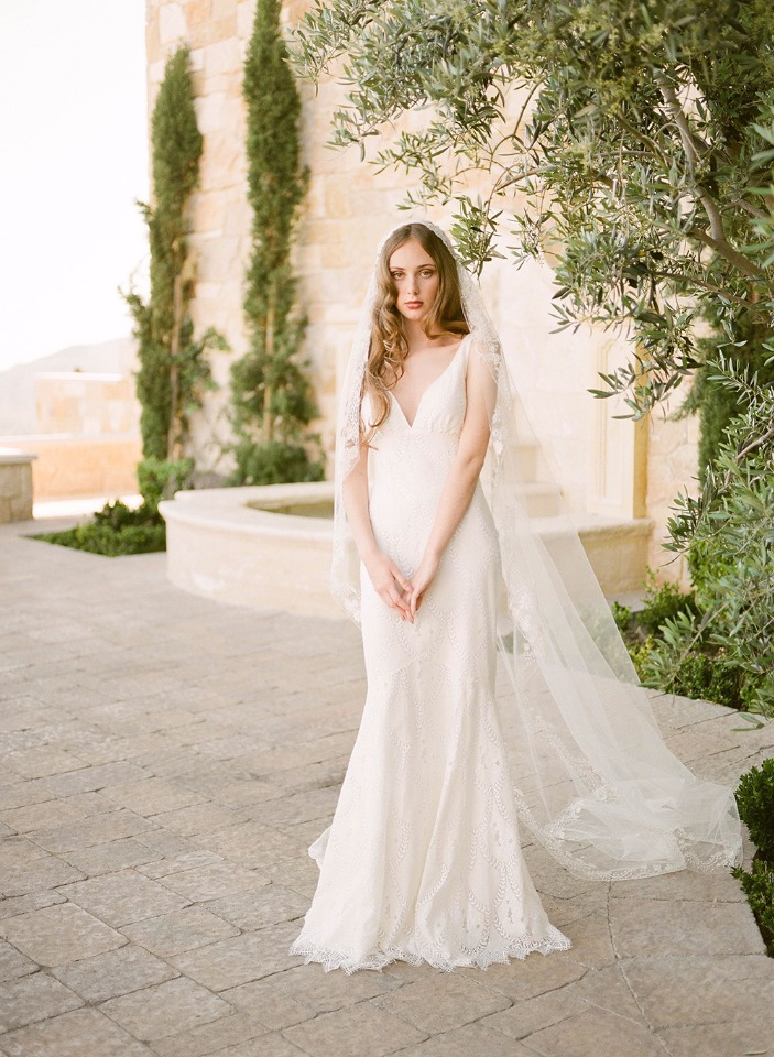 The Toscana wedding gown from Claire Pettibone