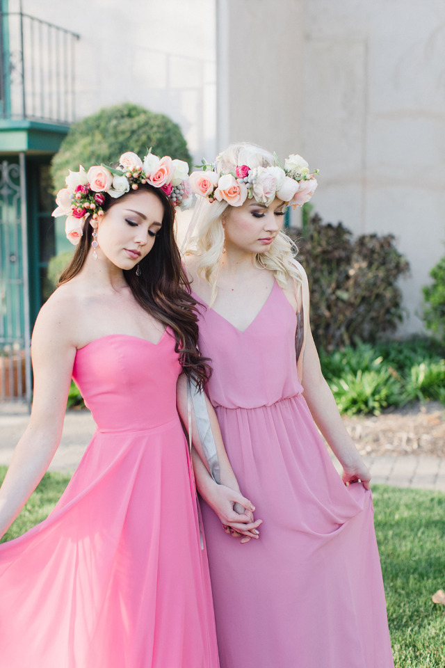 romantic and flowy bridesmaid dresses