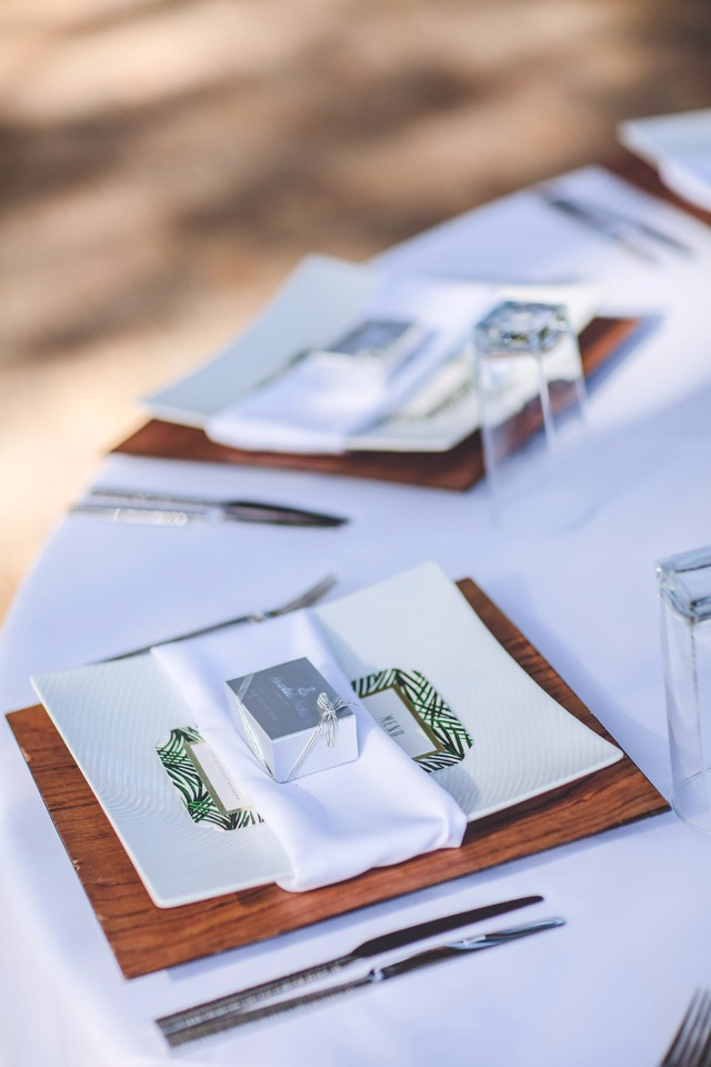 Minted Menu Place Setting Ideas