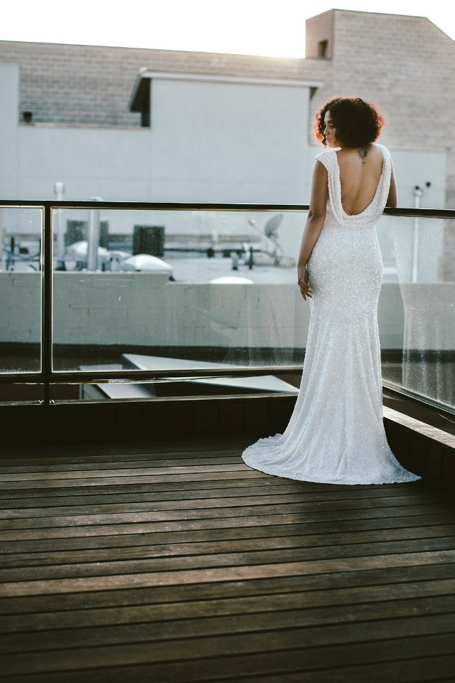 THEIA couture wedding dress