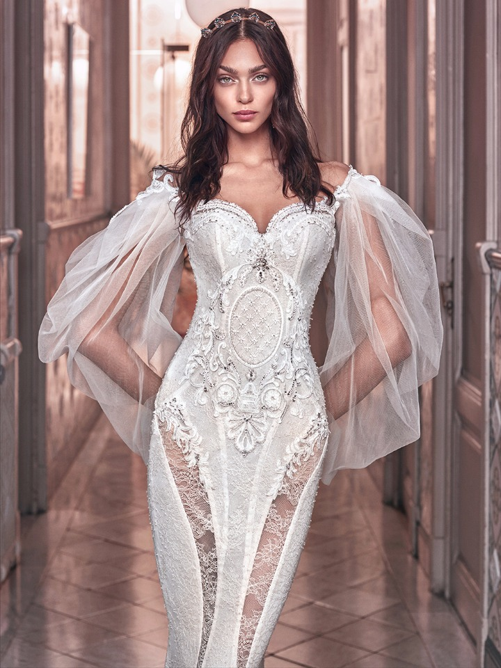 Victorian Lace Wedding Gown By Galia Lahav