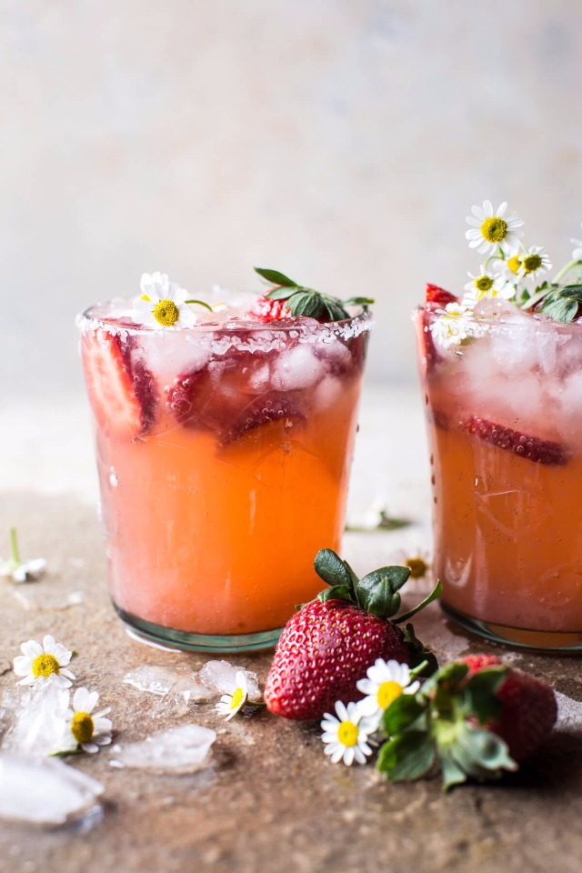 strawberry chamomile paloma