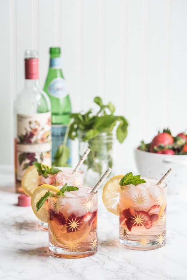 rose spritzer cocktail recipe