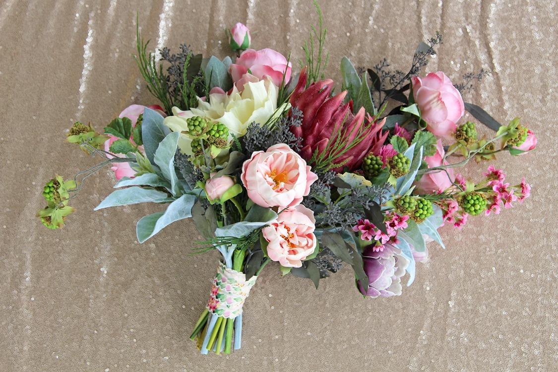 Diy vintage glam bouquet from afloral izmirmasajfo