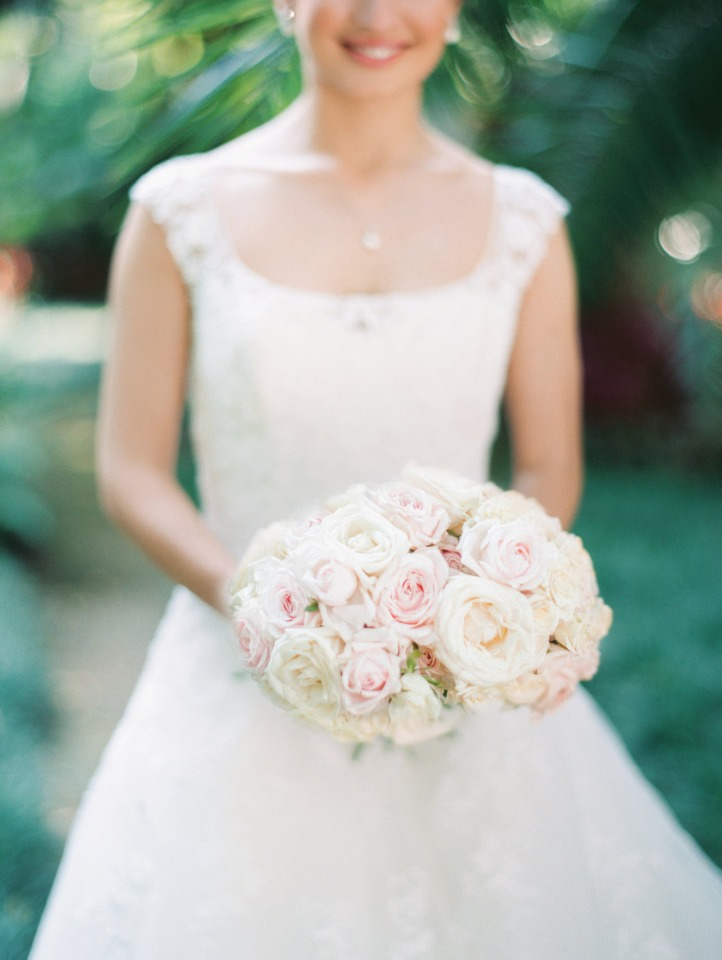 soft pink and blush bouquet