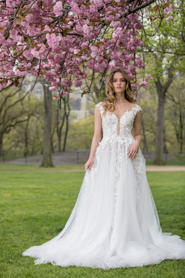 Whimsical Alice in Wonderland Bridal Collection From Michal Medina