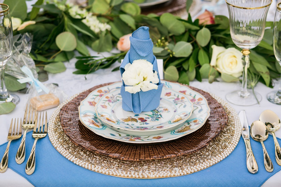 Regal place setting