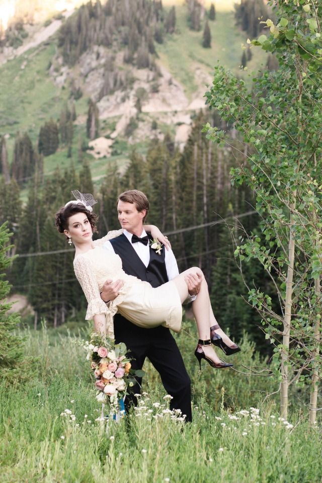 French wedding inspiration in Utah