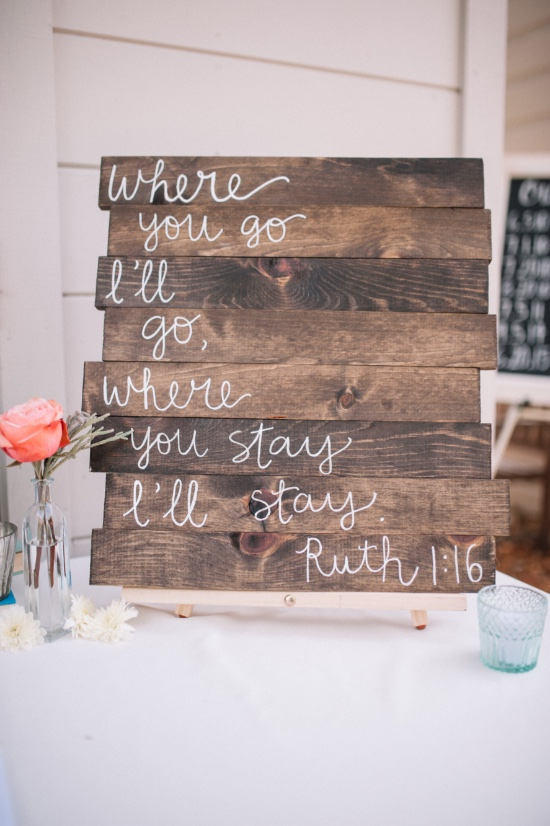 rustic pallet wedding sign
