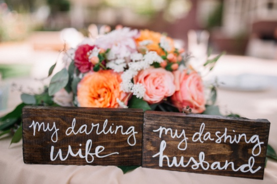 cute sweetheart table signs