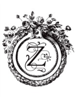 antique monogram