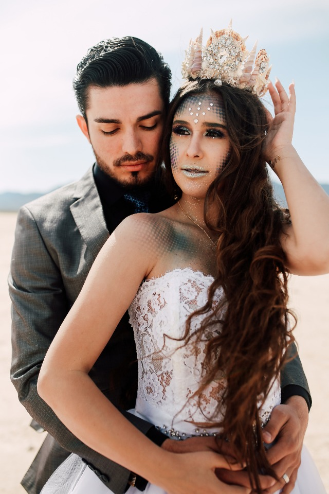 Mermaid bride and her prince