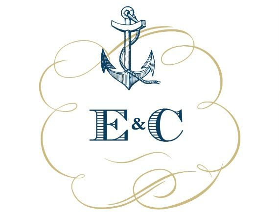 Print: Nautical Free Printable Wedding Monogram