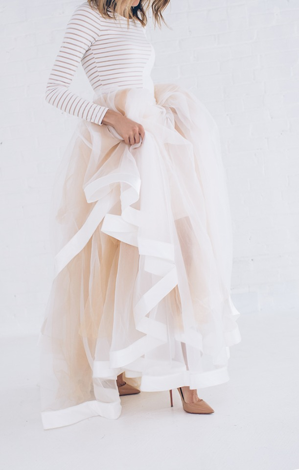 Hello Fashion alternative wedding dress or getaway dress.