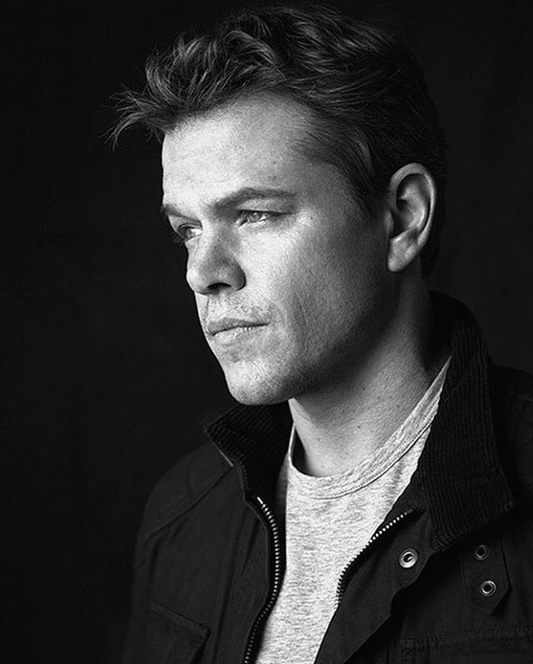 Matt Damon photo by John Russo Photo