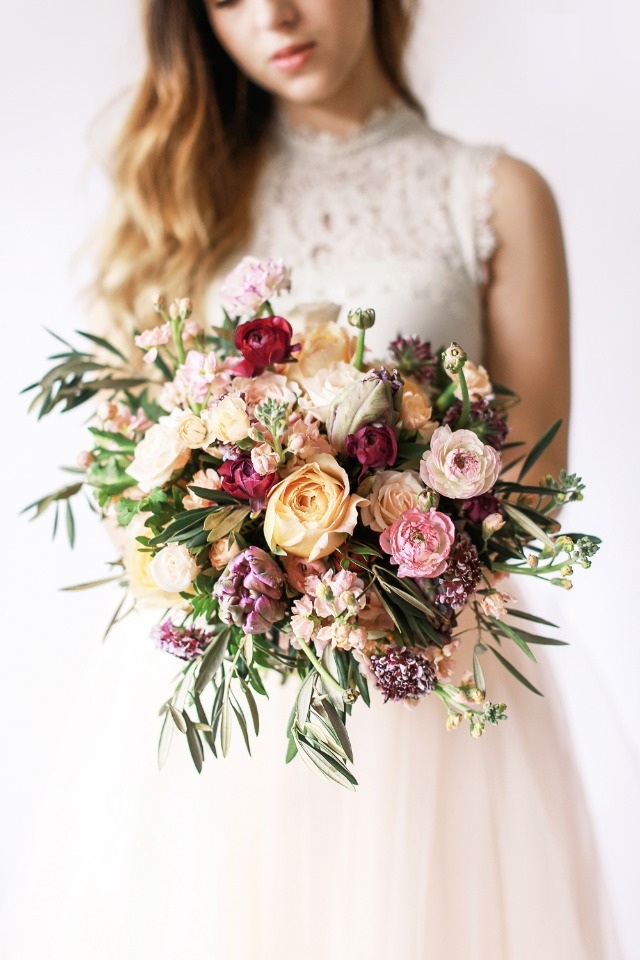 Top it all off with a stunning bouquet