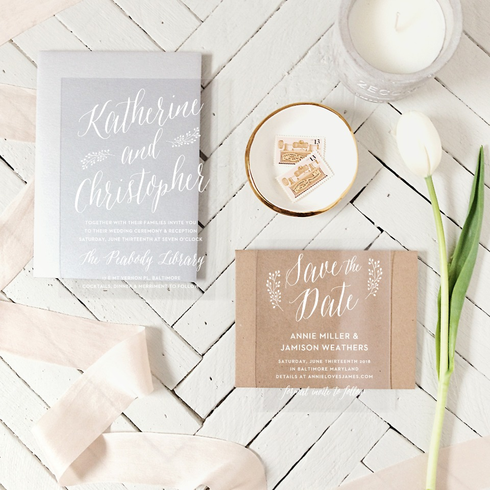 Basic Invites new clear collection