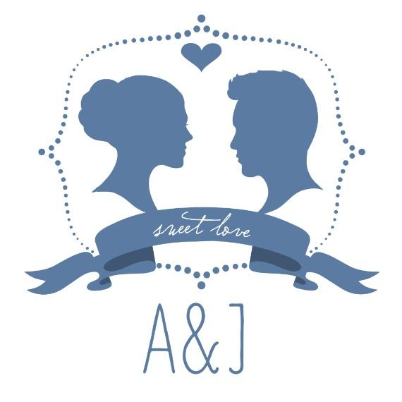 Print: Silhouette Free Printable Wedding Monogram