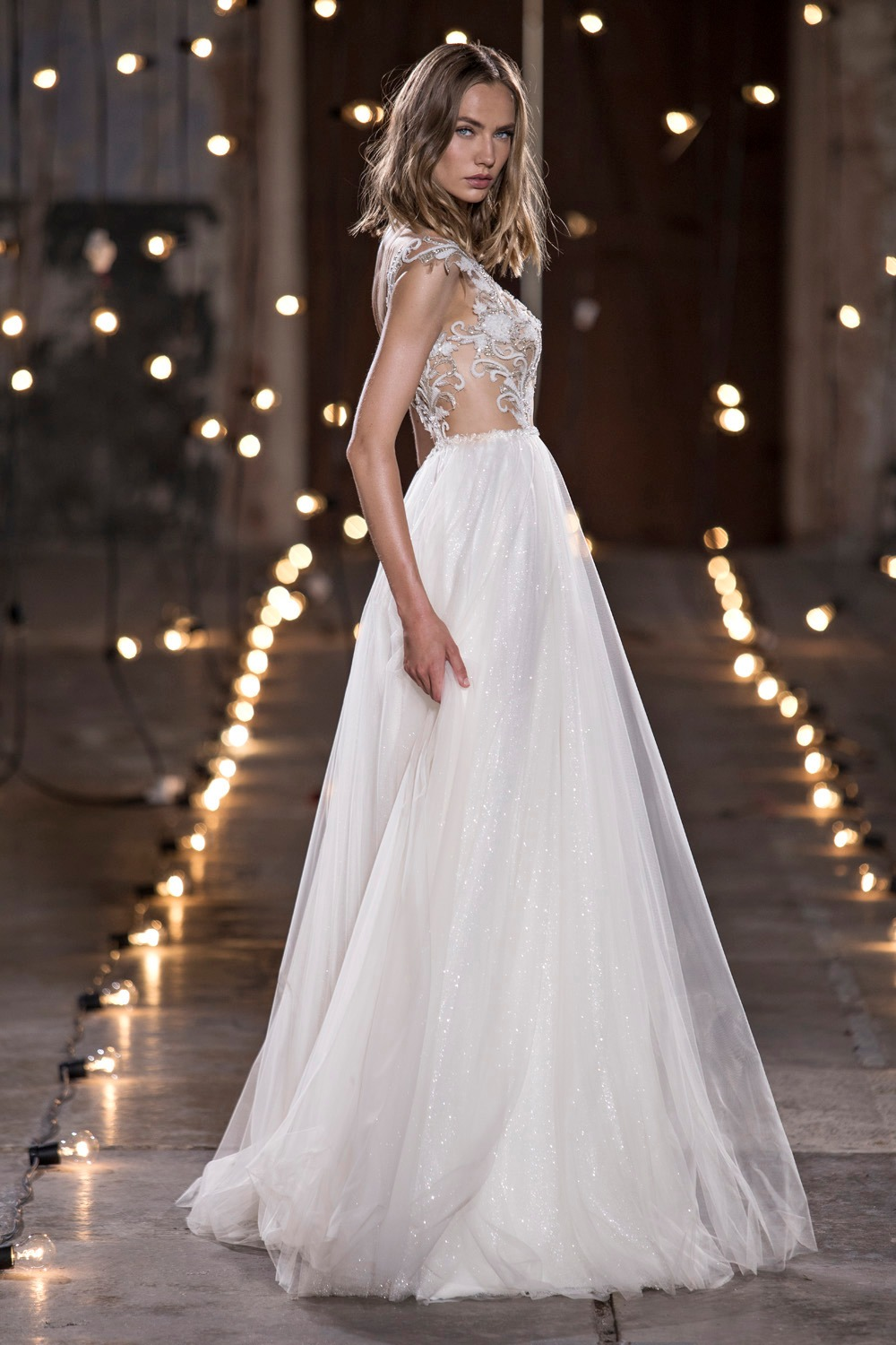 stardust couture wedding dress collection see through