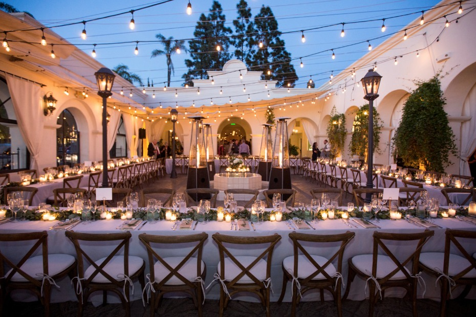 Dreamy reception lighting