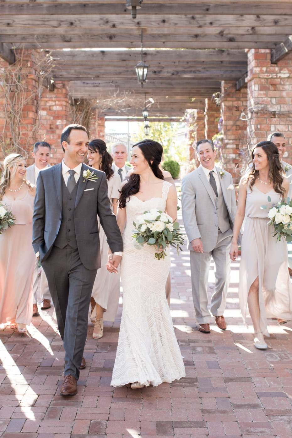 Chic wedding in Santa Barbara