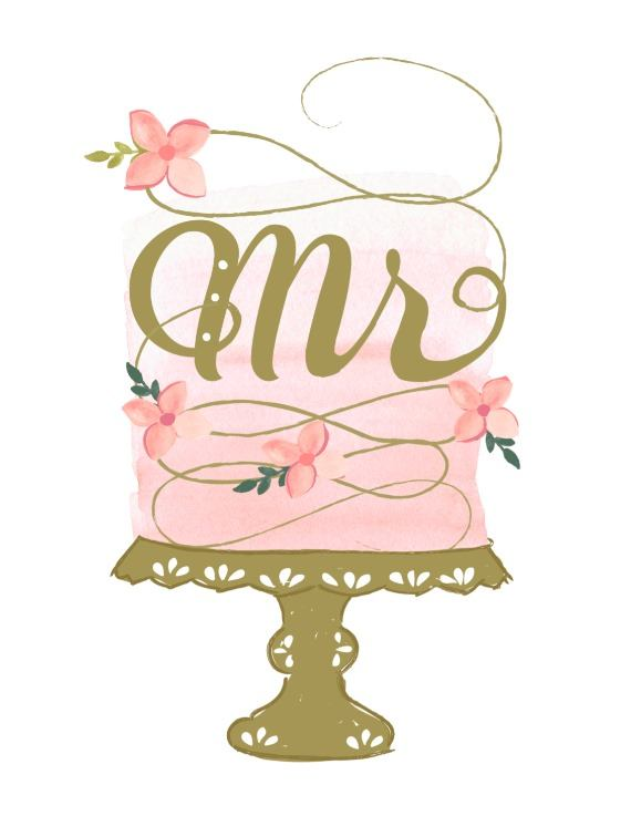 Print: Mr. and Mrs. Free Printable Wedding Chair Signs