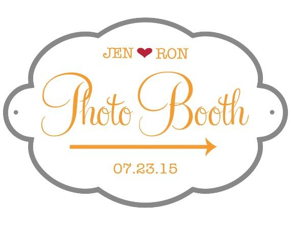 Print: Free Photobooth Wedding Sign