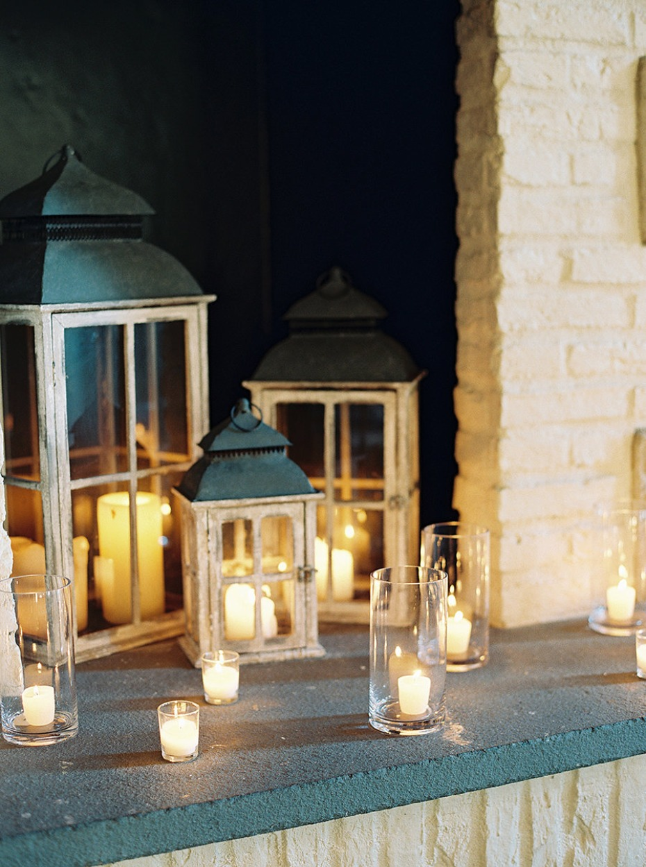 Candlelight and lanterns