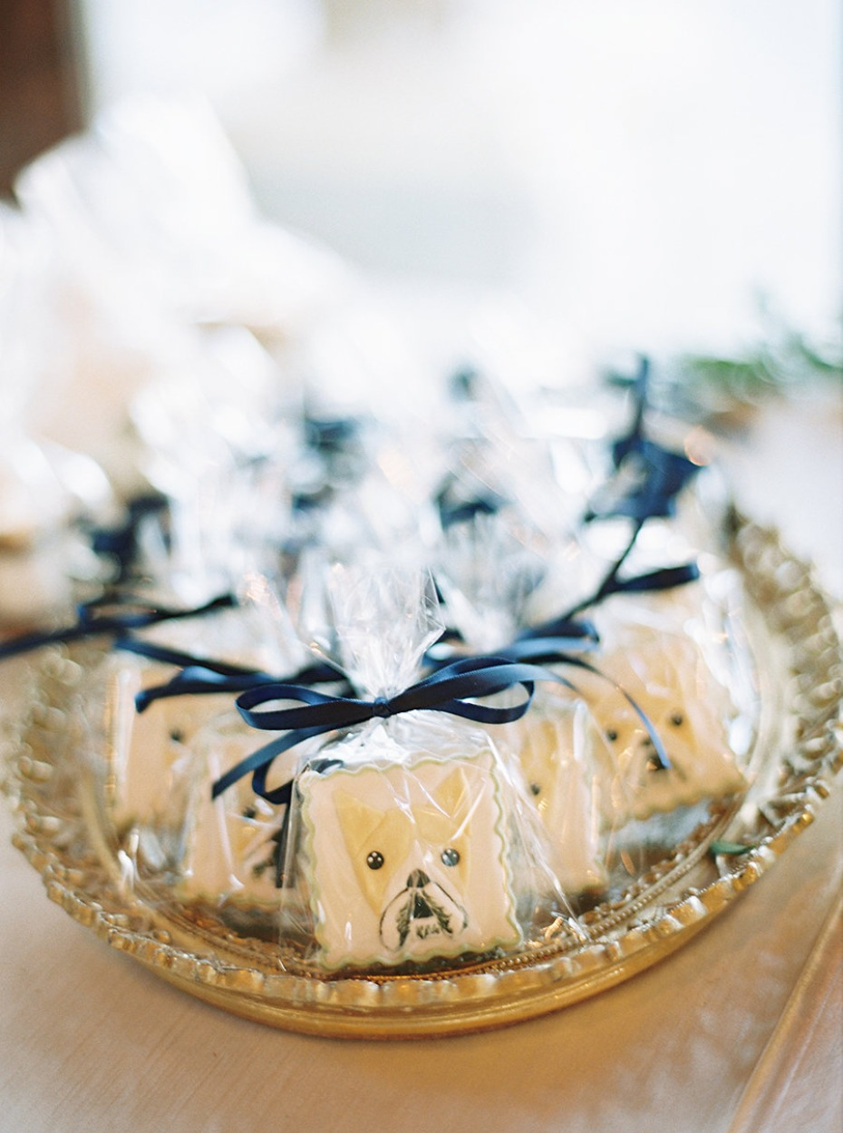 Puppy face s'more favors