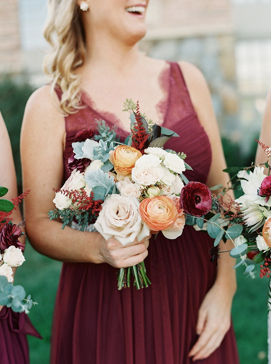 Perfect bridesmaid bouquet