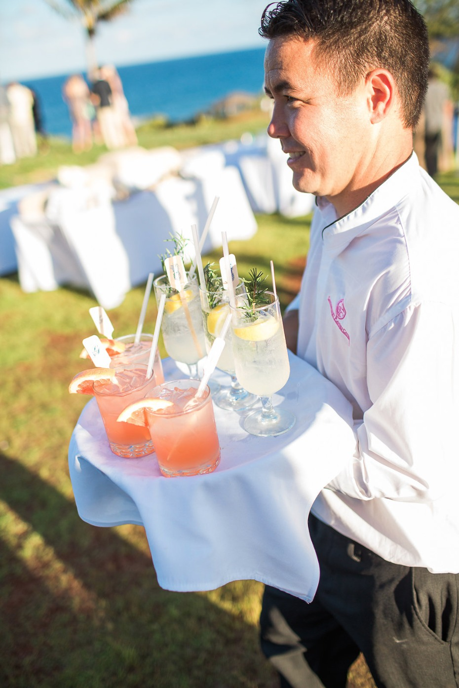 Signature cocktails for guests
