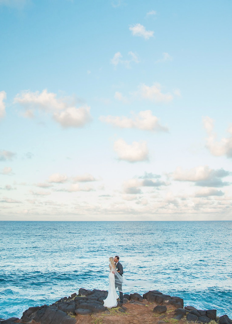 Private estate wedding in Kauai