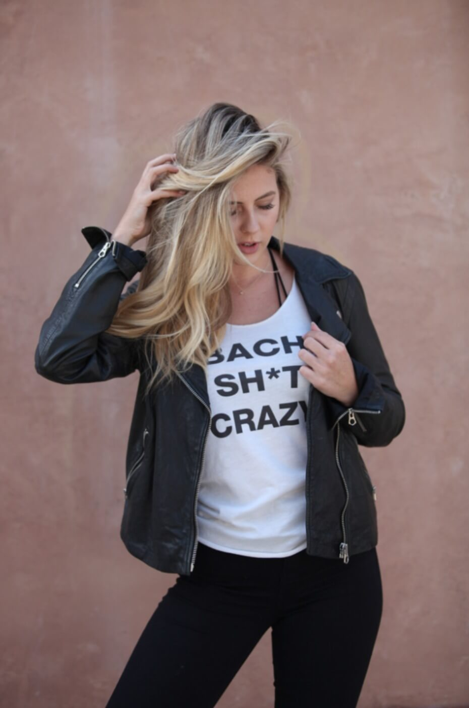 Bach Shit Crazy Bridal Party Tank from Wedding Chicks Shop