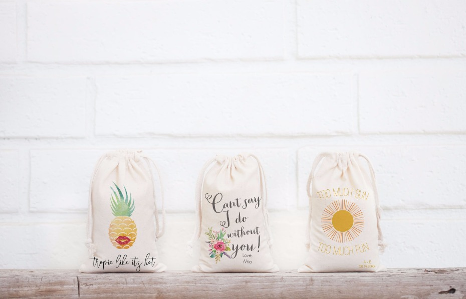 Favor Bags for your weddings favors.