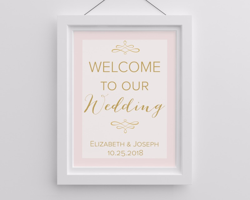 Wedding posters such as this one can help to decorate the walls at your wedding, and then decorate the walls in your home!